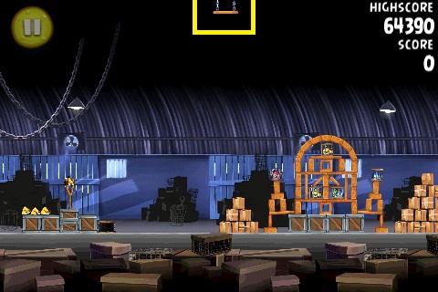 Ananas caché 13 du jeu Angry Birds RIO