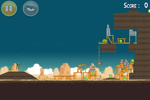 Trouver l'oeuf d'or 21 d'Angry Birds