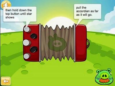 Niveau bonus de Ham 'Em High d'Angry Birds