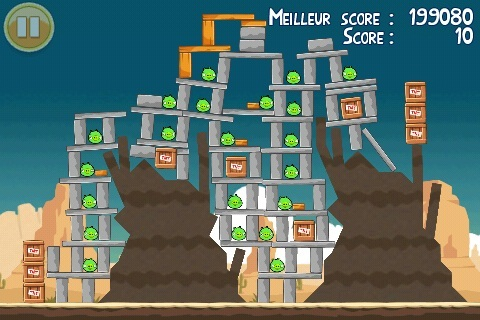 Niveau bonus de l'oeuf d'or 19 d'Angry Birds