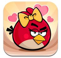 Angry Birds Saint-Valentin