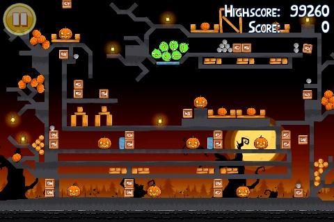 Niveau bonus oeuf d'or 1 d'Angry Birds Halloween
