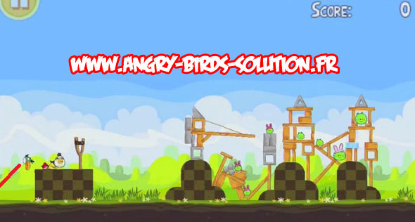 Easter egg d'Angry Birds Seasons (Easter)