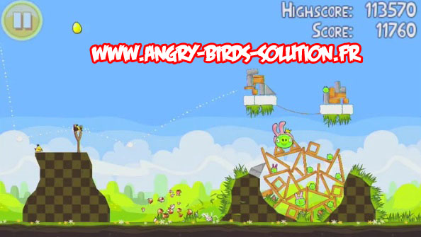 Easter golden egg 16 d'Angry Birds Seasons Paques