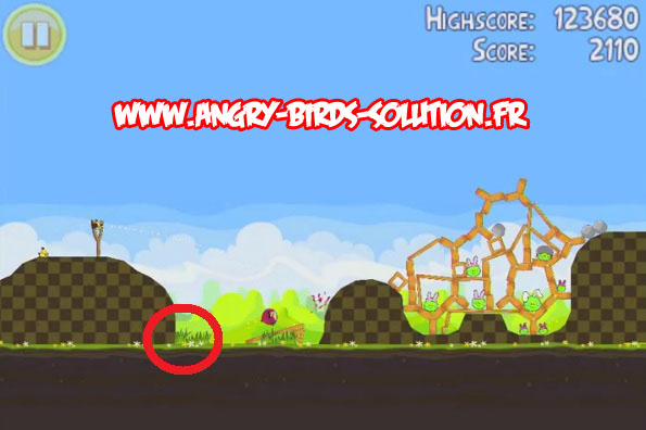 Easter golden egg 17 d'Angry Birds Seasons : Paques
