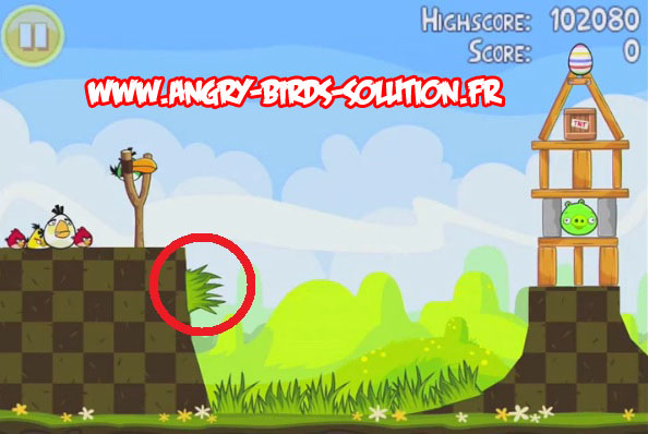 Easter golden egg 18 d'Angry Birds Seasons : Pâques