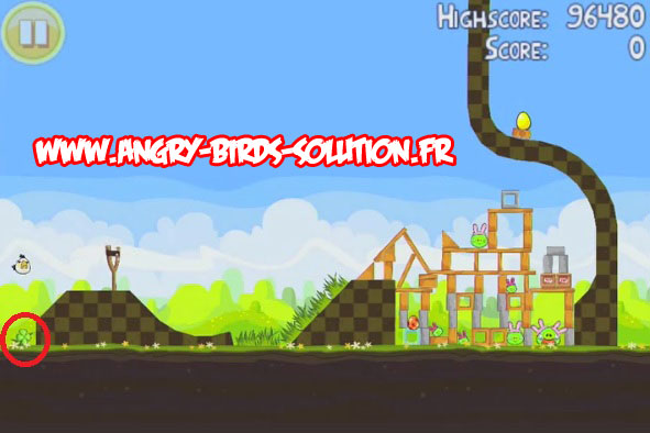 Easter egg 19 d'Angry Birds Easter (Pâques)