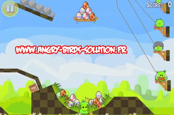 Niveau bonus easter egg 13 d'Angry Birds Easter