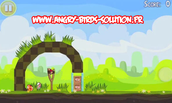 Niveau bonus easter egg 15 Angry Birds Seasons