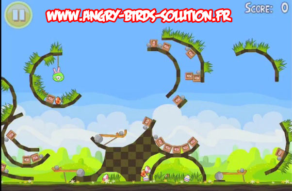 Niveau bonus easter egg 16 d'Angry Birds Seasons