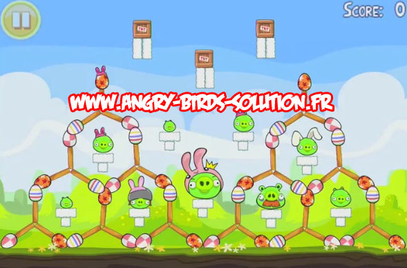 Niveau bonus easter egg 10 d'Angry Birds Easter