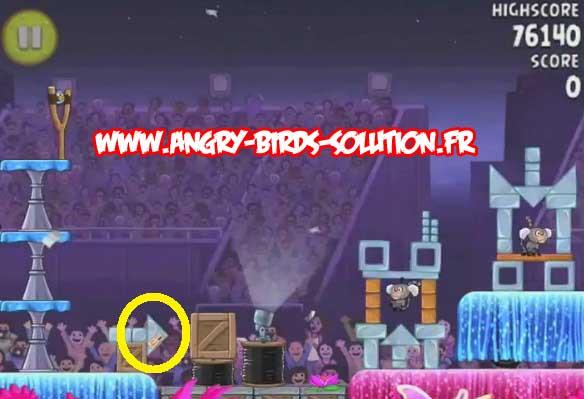 Papaye en or 1 (niveau 7-2) d'Angry Birds Rio