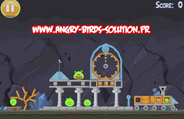 Niveau bonus de l'oeuf d'or 23 d'Angry Birds