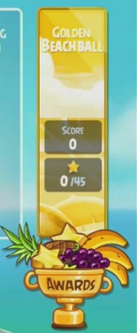Chapitre bonus Golden BeachBall d'Angry Birds Rio