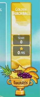 Chapitre bonus Golden BeachBall d'Angry Birds Rio