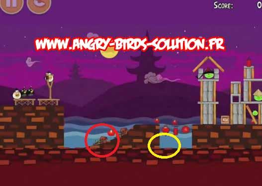 Gâteau de lune en or 4 d'Angry Birds Moon Festival