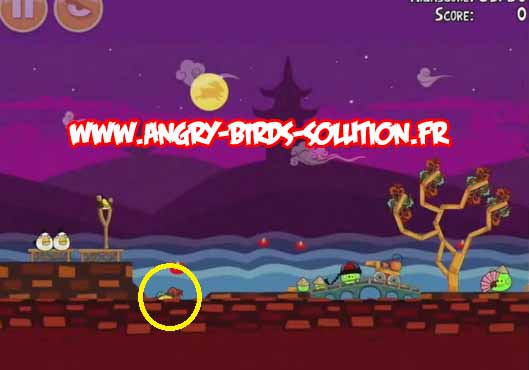 Gâteau de lune en or 5 d'Angry Birds Moon Festival