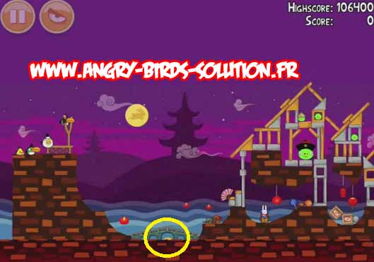 Golden MoonCake 6 d'Angry Birds Seasons Moon Festival
