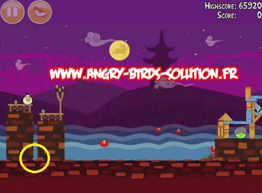 Gâteau de lune en or 7 d'Angry Birds Seasons : Moon Festival
