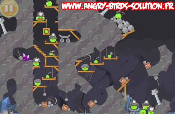 Niveau bonus de l'oeuf d'or 26 d'Angry Birds