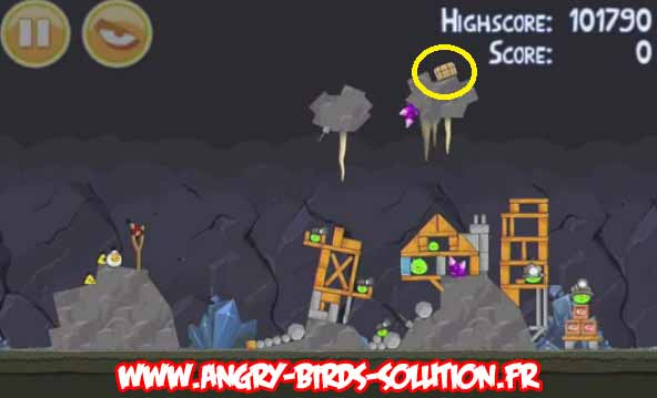 Solution de l'oeuf d'or 26 d'Angry Birds