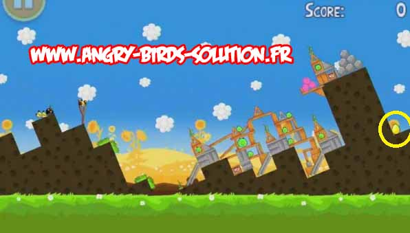 Golden egg 2 d'Angry Birds Summer Pignic