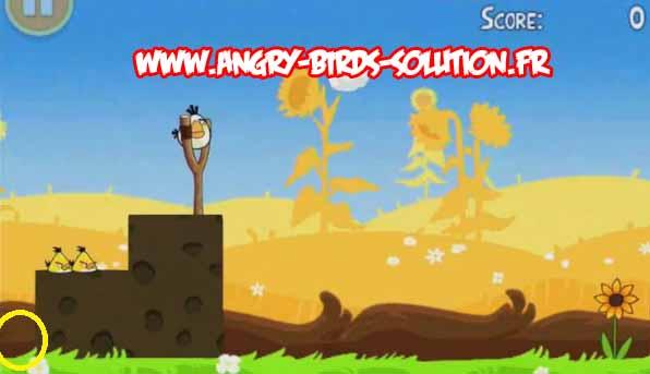 Golden egg 2 d'Angry Birds Pique Nique (Summer Pignic)