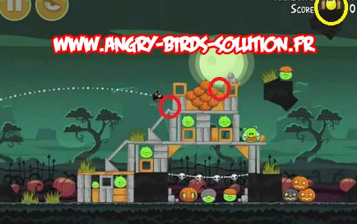 Golden egg 2 d'Angry Birds Ham'O'Ween