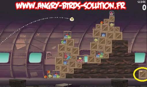 Mangue d'or 1 (niveau 11-2, d'Angry Birds RIO)