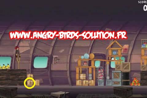 Mangue dorée 3 d'Angry Birds RIO, niveau 11-7