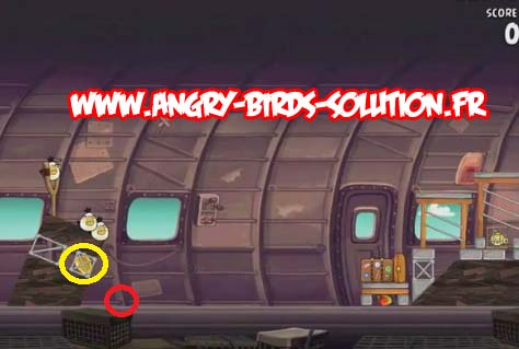 Mangue en or 4 d'Angry Birds RIO (level 11-10)