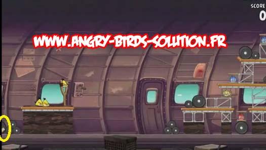 Mangue en or 6 (niveau 11-13, Angry Birds RIO)