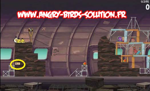 Mangue en or 7 d'Angry Birds RIO (level 11-15)