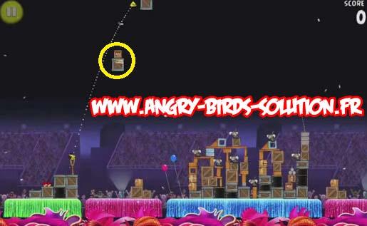Papaye d'or 13 d'Angry Birds RIO (niveau 8-12)
