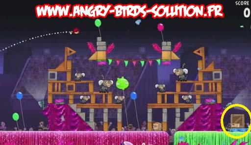 Papaye en or 14 (niveau 8-14 d'Angry Birds RIO)