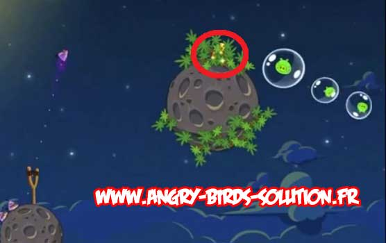 Golden Eggsteroid #2 d'Angry Birds Space (level 1-20)