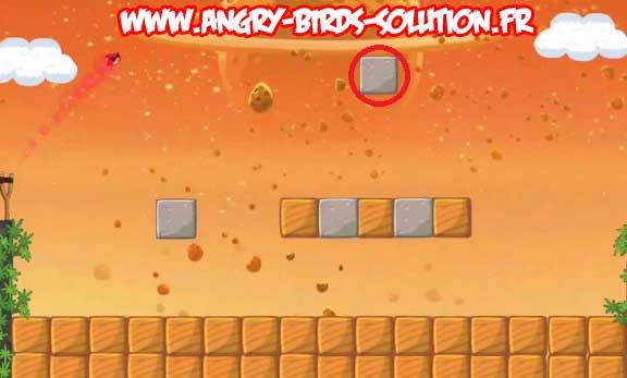 Niveau bonus du Golden Eggsteroid #2 d'Angry Birds Space