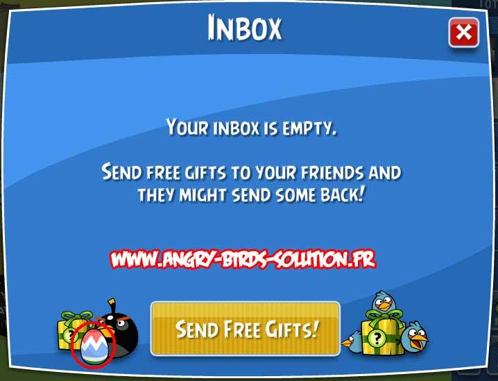 Oeuf de Pâques #4 d'Angry Birds Facebook