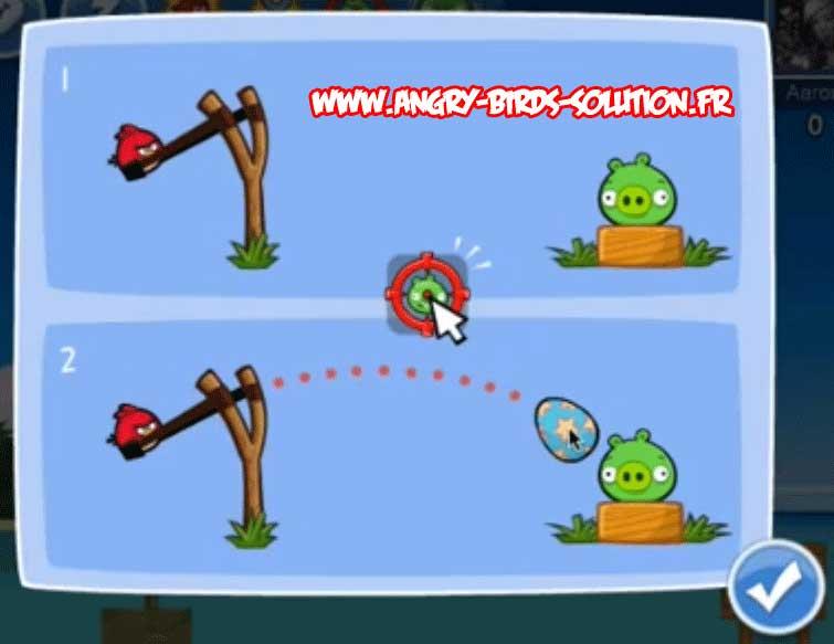 Oeuf de Pâques #5 d'Angry Birds Facebook