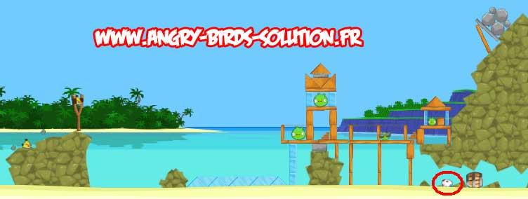 Oeuf de Pâques #6 d'Angry Birds Facebook