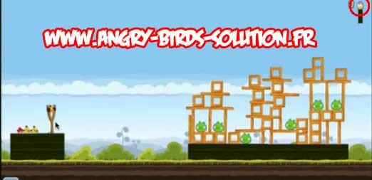 Oeuf de Pâques #8 d'Angry Birds sur Facebook