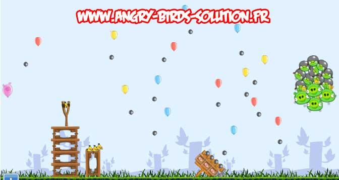 Niveau bonus #4 d'Angry Birds Facebook