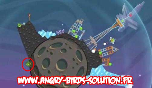 Golden Eggsteroids #6 (niveau 3-10 d'Angry Birds Space)