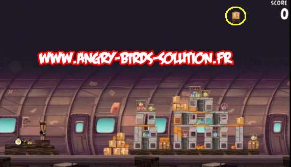 Solution Mangue en or 10 d'Angry Birds Rio