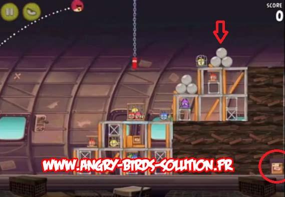 Soluce 12ème mangue en or d'Angry Birds RIO