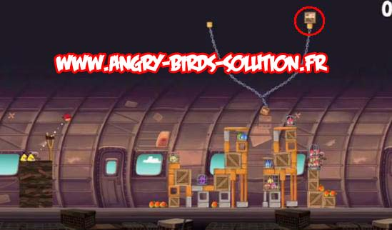 Solution Mangue dorée 8 d'Angry Birds RIO