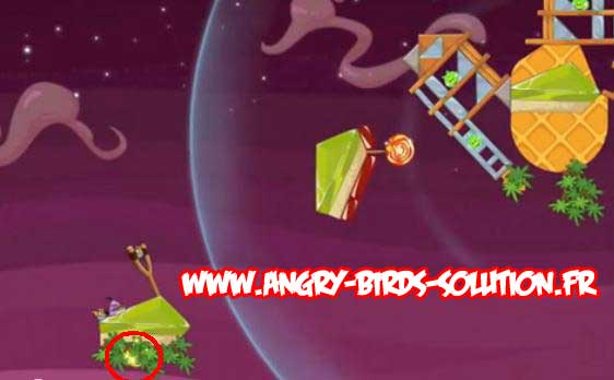 Golden Eggsteroid #7 d'Angry Birds Space