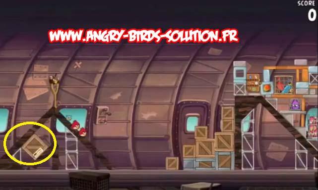 Mangue en or 14 d'Angry Birds Rio