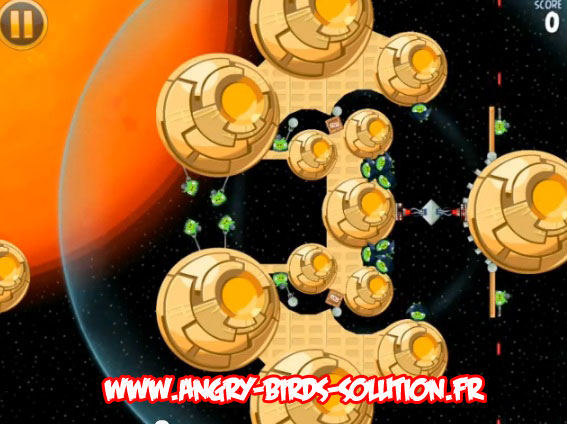 Niveau bonus Golden Droid #4 (Angry Birds Star Wars)