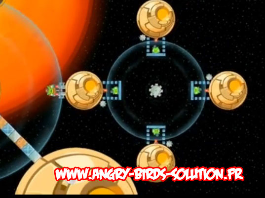 Niveau bonus Golden Droid #5 d'Angry Birds Star Wars